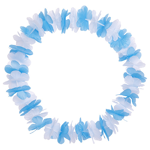 Flower Garland Oktoberfest blue-white